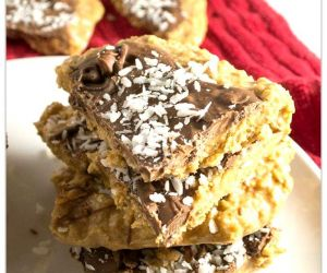NO-BAKE OATMEAL PEANUT BUTTER BARS