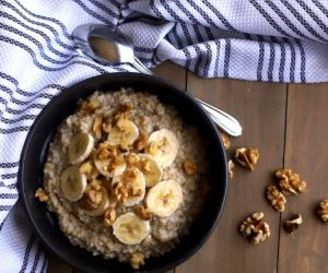 BANANA NUT HEALTHY OATMEAL