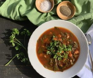 ROASTED VEGETABLE SOUP | THE DANIEL FAST