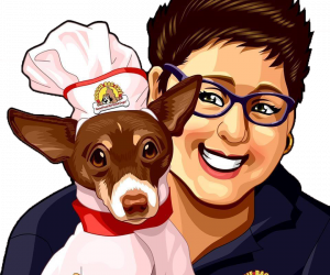 THE DOG-SERT at Cooking for Canines with Chef Laly & Friends