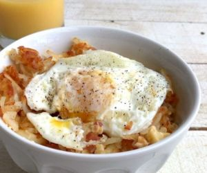 Mouthwatering Breakfast Mac and Cheese