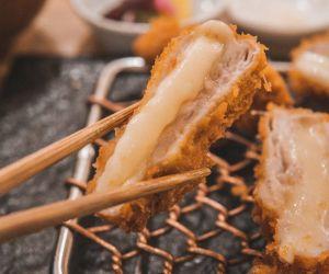 Cheesy Pork Cordon Bleu