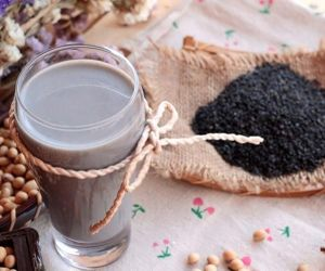 Black Sesame Milk Recipes