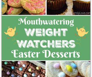 WEIGHT WATCHERS EASTER DESSERT RECIPES