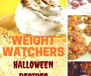 WEIGHT WATCHERS HALLOWEEN RECIPES