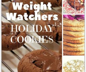 AMAZING AND EASY WEIGHT WATCHERS HOLIDAY COOKIE RECIPES