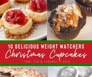 DELICIOUS WEIGHT WATCHERS CHRISTMAS CUPCAKES