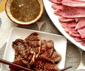 Grilled Miyazakigyu Wagyu Short Ribs with Yakiniku Sauce