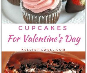 THE BEST VALENTINE'S DAY CUPCAKES ON THE PLANET