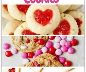EASY TO MAKE VALENTINE'S DAY COOKIES