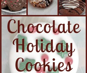 RECIPES FOR CHOCOLATE HOLIDAY COOKIES