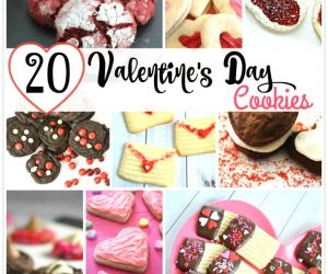 20 FABULOUS VALENTINE'S DAY COOKIE RECIPES