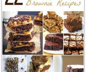 22 AMAZING BROWNIE RECIPES