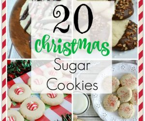 20 AMAZING CHRISTMAS SUGAR COOKIES