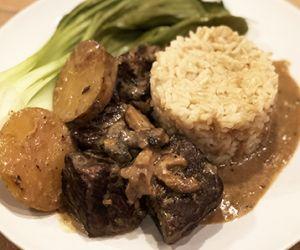 Thai Braised Coconut & Lemongrass Wagyu Beef Top Round Roast