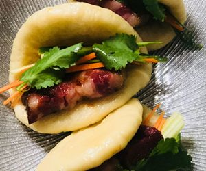 Fullblood Wagyu Beef Bacon Steamed Buns