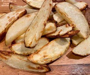 Steak Fries - Air Fryer Steak Fries Recipe | Kathys Vegan Kitchen