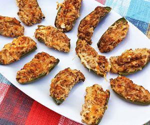 Wagyu Ground Chorizo Sausage Stuffed Jalapeno Poppers
