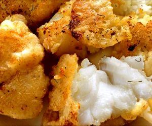 Crispy Fried Cod Dinner