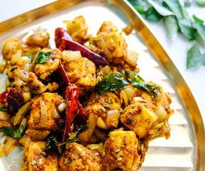 Paneer Tikka Recipe (South Indian Style)