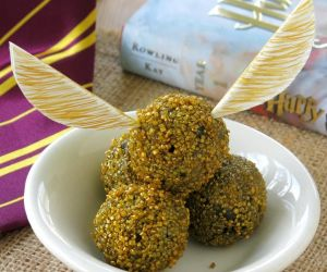 Harry Potter Golden Snitch Truffles