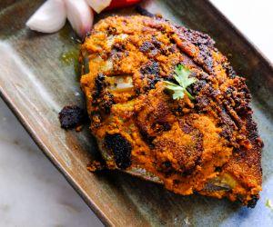 Spicy Pomfret Masala Fry
