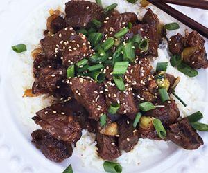 Sticky Fullblood Wagyu Beef Honey-Ginger Stir Fry