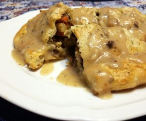 Kansas Style Herbed Pasty