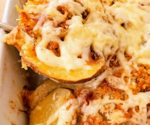 Easy Cheese Scalloped Potatoes - Moore or Less Cooking