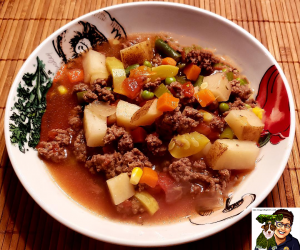Grass Fed Ground Beef Stew recipe for US PEEPS...