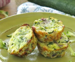 Zucchini Egg Muffins Recipe - Just 4 Ingredients!