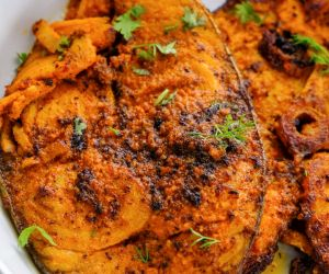Chettinad Vanjaram Fish Fry