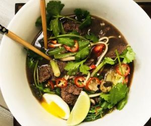 Miso Wagyu Beef Udon Noodle Bowl