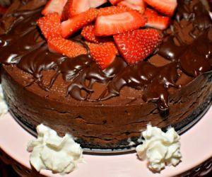 Instant Pot Chocolate Cheesecake
