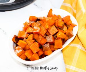 Instant Pot Weight Watchers Candied Sweet Potatoes