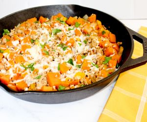 Weight Watchers Ground Turkey Sweet Potato Skillet