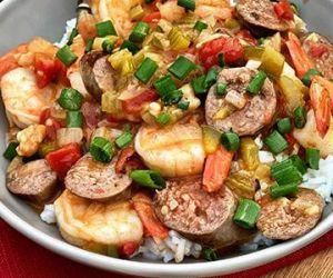 Wagyu Beef Cajun Sausage Gumbo