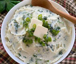 Cauliflower Colcannon - Irish Side Dish