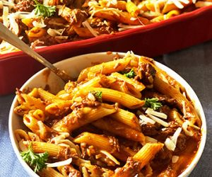 Wagyu Beef Sugo di Carne with Penne Pasta