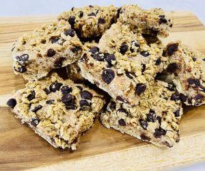 Healthy Chocolate Caramel Oat Bars - Healthy recipes