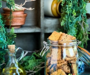 Air Fried Gluten Free Crackers: Made with Lupin flour and Lentils