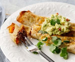 Easiest Carne Asada-Butternut Squash Enchiladas (Paleo/Gluten-Free) | A Meal In Mind