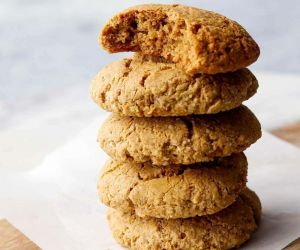 Healthy Almond Butter-Oat Lactation Cookies - Gluten-Free | A Meal In Mind