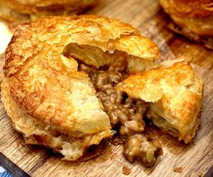 New Zealand Meat Pies with Wagyu Beef