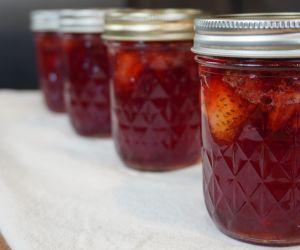How to Make Homemade Strawberry Preserves (Ball Recipe)