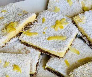 Vegan Lemon Squares | CokoCooks