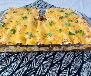 Healthy Chicken Enchiladas | CokoCooks
