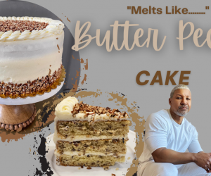 Southern Butter Pecan Cake