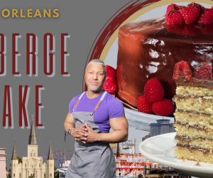 New Orleans Doberge (do-bash) Cake